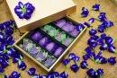 蝶豆花麻糬禮盒