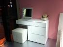 時尚梳妝台 椅 001