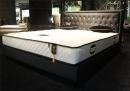 雙人造型床架(布) 044