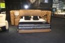 雙人造型床架(皮) 037
