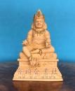 黃財神(立體)-原木描金