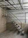 不銹鋼樓梯+採光罩