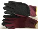 13針沾膠手套