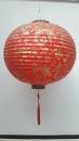 圓型金色繡花燈籠