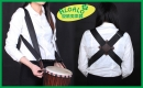 非洲鼓X型雙肩背帶