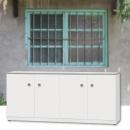 寬160開門窗下鞋櫃(1060720-JMJ001-1)矮鞋櫃,戶外鞋櫃,防水鞋櫃,塑鋼鞋櫃
