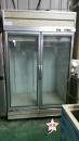 玻璃兩門冰箱