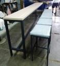 方型鋼管桌椅