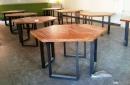 鋼管造型桌1