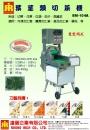 7.BM-104A(雙變頻式)葉莖類切菜機