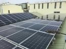 太陽能版清洗中