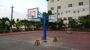 雙人面用籃球架