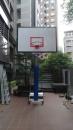 不銹鋼單柱活動式籃球架