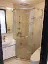 新莊住家衛浴乾濕分離淋浴拉門 泥作工程
