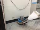 公司地板晶化