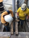 安裝抽水管