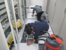 公司高架地板清潔消毒工程