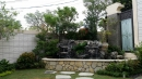 庭園流水池
