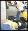 87陳財佑治漏技研 非破壞性工法之排水溝破裂導致B2伸縮縫治漏