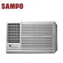 SAMPO聲寶定頻左吹窗型冷氣安裝