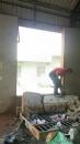 8寸磚牆切割,窗戶加大成落地窗
