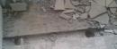 施工鋼網牆,樓板鑽孔準備灌水泥