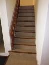 樓梯塑膠地磚施工前