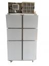 6門立式宅配無霜冷藏櫃
