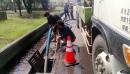 雨季前水溝清洗