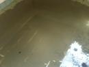 水塔清洗中-泥沙淤積