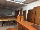 北美檜木大板桌