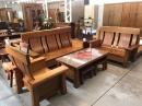 嘉義原木客廳桌椅組