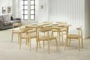 餐廳桌椅組(一桌六椅)