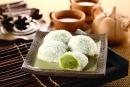 綠茶麻糬-10顆/盒