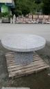 洗石子桌子