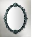 型號:MB9903 橢圓形花紋浮雕鏡