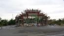 九天寺五川十二柱大牌樓施工