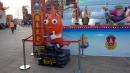 蝦子Q版,FRP造型大型公仔