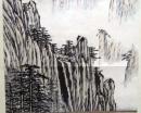 呂佛庭(山水畫),水墨畫作品