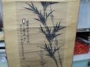 馬夀華,竹,水墨畫作品