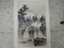 章金生,(硯寒),山水,水墨畫作品