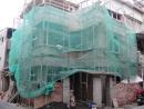 舊屋翻修-海安路外牆拉皮施工中