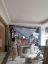 天花板噴漆
