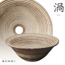 渦UZU 手工陶盆 HW1023-009-210