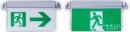 緊急出口標示燈&避難方向指示燈-崁頂式 TKM906-BL-400/TKM906-BH-400