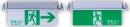 緊急出口標示燈&避難方向指示燈-崁頂式 TKM906-C-360