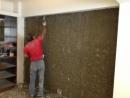 壁癌打除水泥粉刷層【導角挖深】---以自癒膠塗刷1道---1