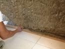 壁癌打除水泥粉刷層【導角挖深】---以自癒膠塗刷1道---3