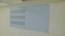 五線譜磁性玻璃白板