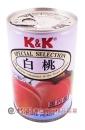 K&K白桃罐425ml【4901592012623】